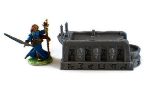 Sacrificial Blood Altar - 28mm Occult Dungeon Scatter Props - Miniature Town