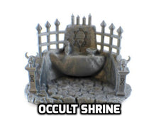 Load image into Gallery viewer, Occult Temple Set - 28mm RPG Terrain - Miniature Town