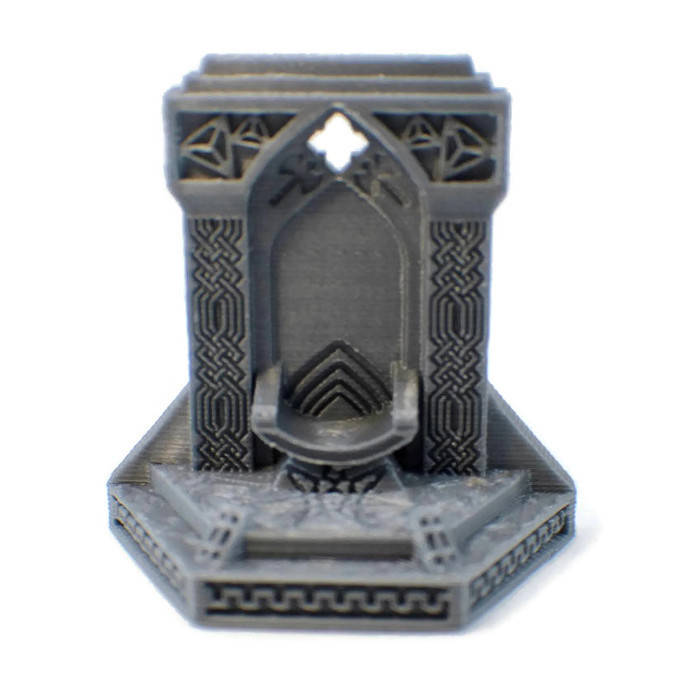 Royal Throne - 28mm Miniature for Tabletop RPG - Miniature Town