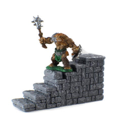 Miniature Staircase | Dungeon Terrain 28mm Scale | Dungeons and Dragons Terrain | DnD | RPG Tabletop Terrain