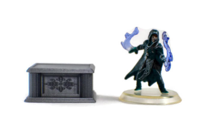 28mm Altar for a Village Temple or Cultist Dungeon | RPG Terrain | Dungeons and Dragons D&D Miniatures