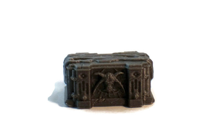 Evil Altar for a 28mm Scale Cultist Temple - Miniature Town