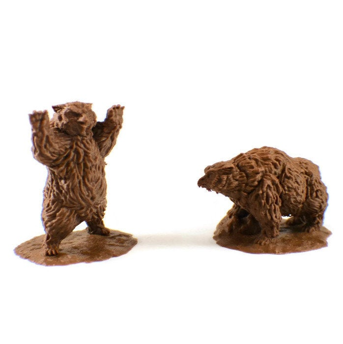 2-Piece Owlbear 28mm Miniature Set | Dnd Miniatures | Dungeons & Dragons Miniatures