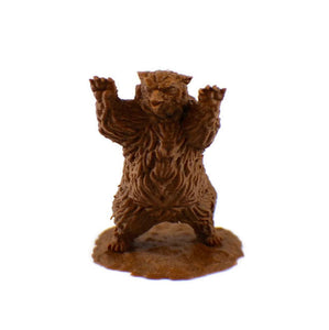 2-Piece Owlbear 28mm Scale Miniature Set - Miniature Town