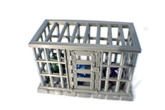 D&D Dice Jail - 28mm Miniature Prison Cell - Miniature Town