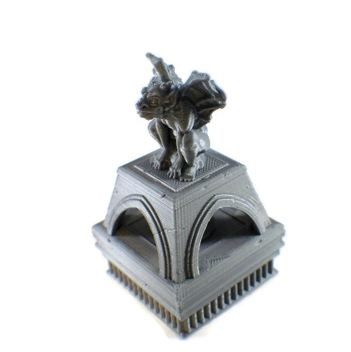 LED Light up Gargoyle Brazier - 28mm Dungeon Decor | Dungeon Terrain | RPG DnD Terrain | Dungeons & Dragons Terrain