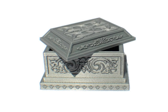 Miniature Sarcophagus or Tomb for 28mm Graveyard Scenery | Dungeon Terrain | Dungeons and Dragons Terrain