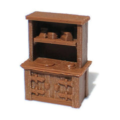 28mm Cabinet for RPG Village Furniture - Miniature Town