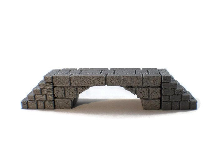 Bridge Terrain Scatter Blocks | Dungeon Terrain Dungeons and Dragons Terrain