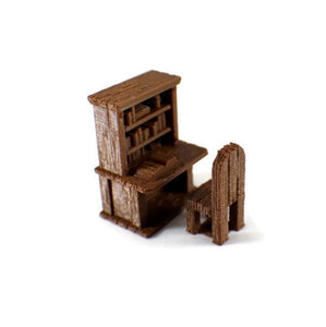 Desk for 28mm Scale D&D Village Furniture - Miniature Town