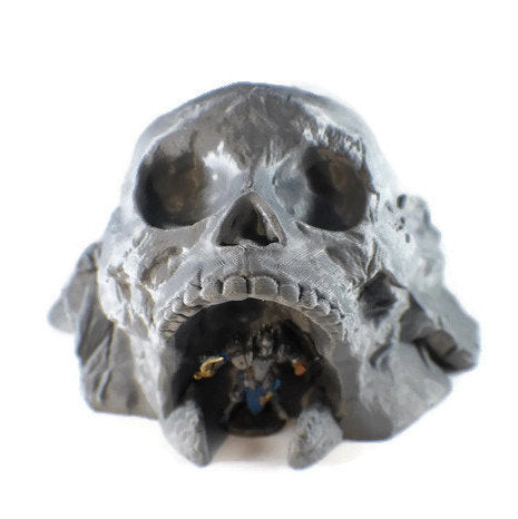Pirate Skull Dungeon Entrance - 28mm Miniature | Dungeons and Dragons Terrain | Seafaring Terrain for Tabletop RPG