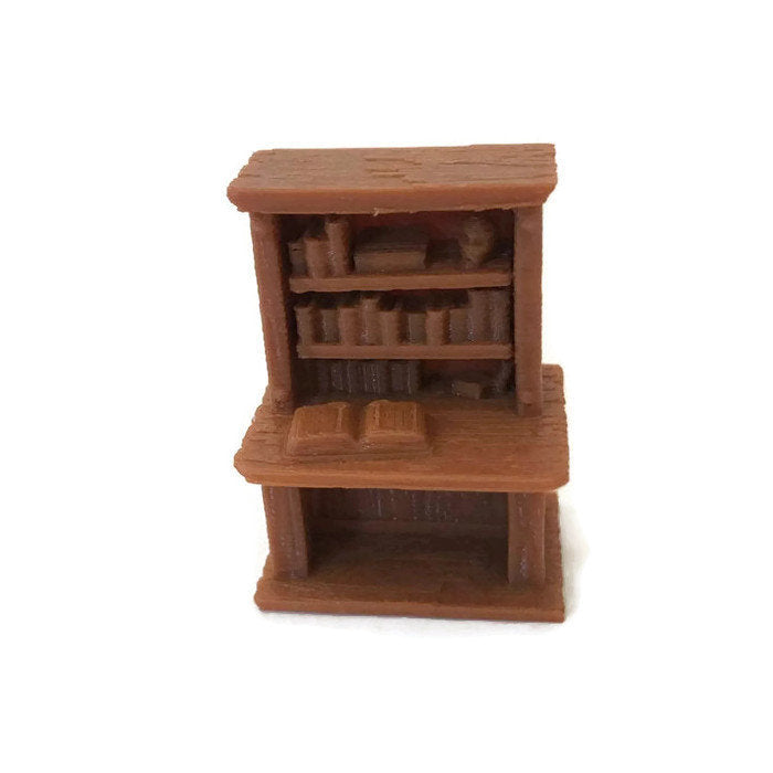 28mm Desk for D&D Village Furniture - Miniature Town
