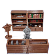 Load image into Gallery viewer, General Store 28mm Miniature Village Furniture - Miniature Town