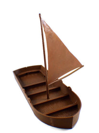 Sail Boat for 28mm D&D Seafaring Terrain - Miniature Town