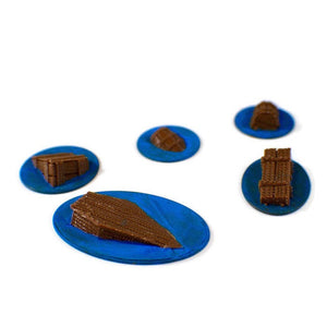 5-Pack Flotsam 28mm Miniature Set - Miniature Town