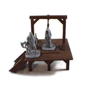 Prisoner & Executioner 28mm miniature set - Miniature Town
