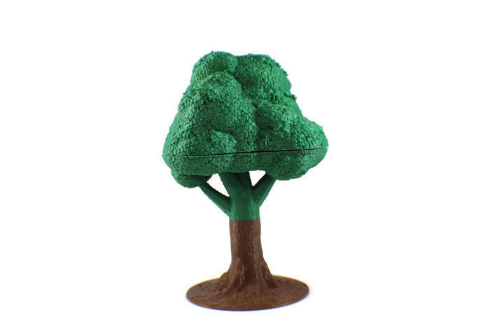 Terrain Tree for 28mm Scale Forest or Jungle Terrain - Miniature Town
