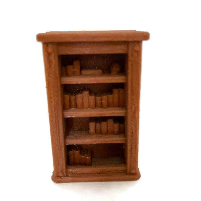 28mm Miniature Bookcase for D&D Dungeon Furniture - Miniature Town