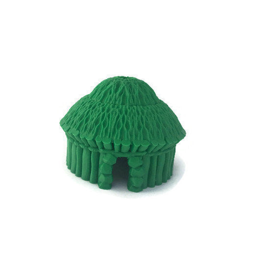 Round Village Huts for 28mm Scale Miniature Dungeon Terrain (Kyn Finvara) - Miniature Town