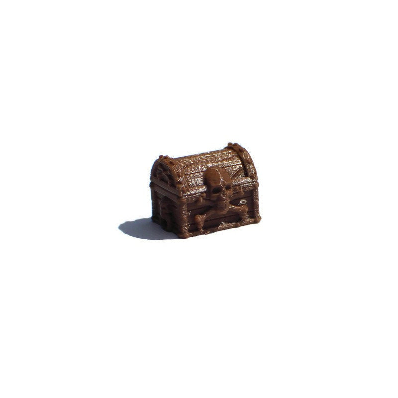 4-piece 28mm Pirate Treasure Chests | 28mm Ships and Boats | Dungeons & Dragons Seafaring Scatter