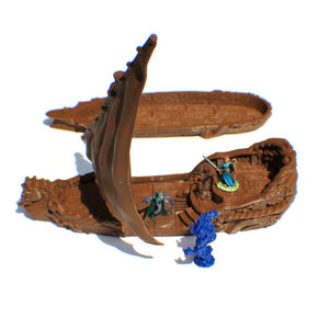 Maiden's Gambit 28mm Tabletop Sailing Ship - Miniature Town