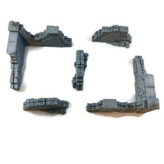 28mm wall ruins set