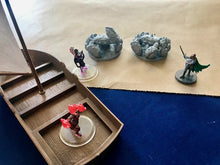 Load image into Gallery viewer, Giant Crab Miniatures for 28mm Scale D&D Wilderness Terrain - Miniature Town