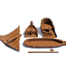 Load image into Gallery viewer, Maiden's Gambit 28mm Tabletop Sailing Ship - Miniature Town