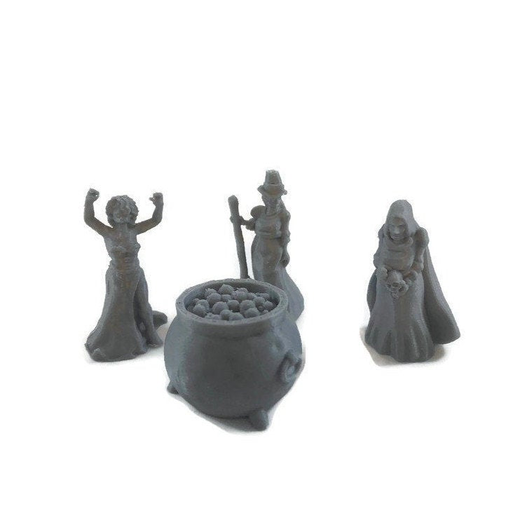 Witch or Hag Coven 28mm D&D Monster Miniatures | Dungeons and Dragons | Pathfinder