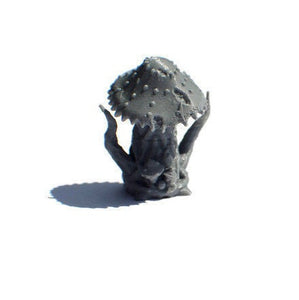 Mushroom Monster or Myconid Set of 28mm Scale Miniatures for D&D Cavern Terrain - Miniature Town