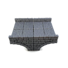 Fancy Large Stone Bridge 28mm DnD Terrain - Miniature Town