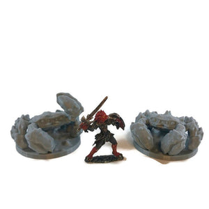 Giant Crab Miniatures for 28mm Scale D&D Wilderness Terrain - Miniature Town