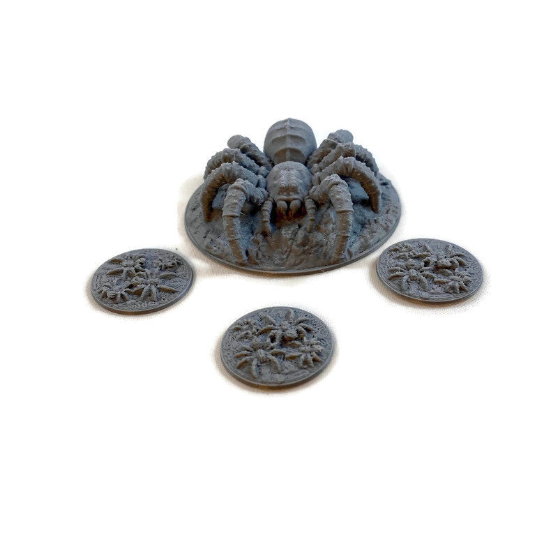 28mm Giant Spider Set | Dnd Miniatures | Dungeons & Dragons Miniatures