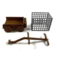 Load image into Gallery viewer, Prison Wagon with Cage for 28mm Scale D&D Village - Miniature Town