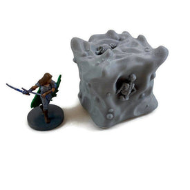 Gelatinous Cube 28mm Miniature for D&D Dungeon Terrain - Miniature Town