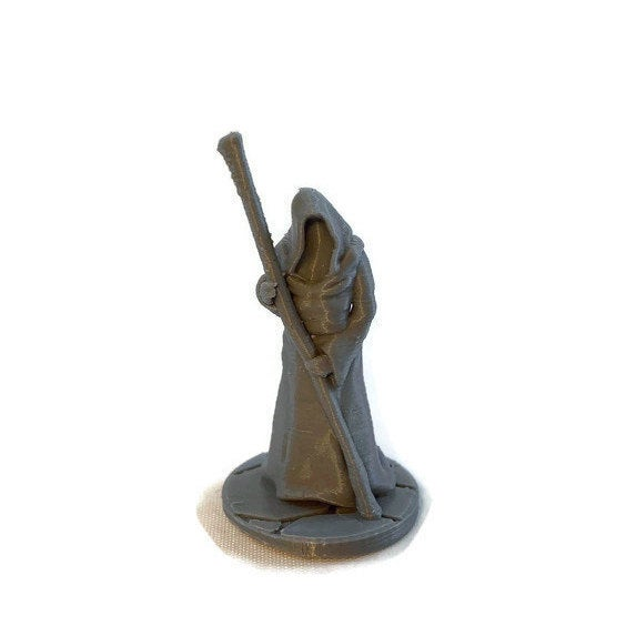 Ferryman 28mm miniature for Pathfinder or Dungeons and Dragons - Miniature Town