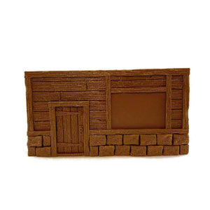 Building Facades for 28mm Scale D&D Terrain - Miniature Town