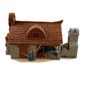 Cottage Bakery 28mm for D&D Village Terrain - Miniature Town