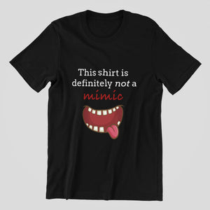 Not a Mimic Shirt - Short-Sleeve Unisex D&D T-Shirt