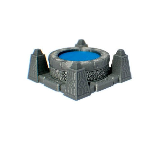 28mm Scrying Pool or Brazier for D&D Dungeon Terrain - Miniature Town