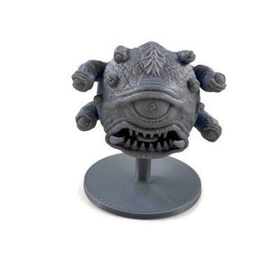 Angry Beholder Eye Beast 28mm Miniature Monster - Miniature Town