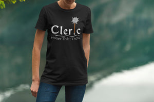 D&D Cleric Class T-Shirt | Dungeons and Dragons Pathfinder Tabletop RPG