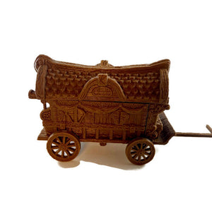Carnival Wagon 28mm Scale for Circus D&D Terrain | Dungeons and Dragons Terrain
