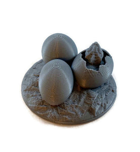 Dragon Eggs 28mm Scale Miniature for D&D Dungeon Terrain