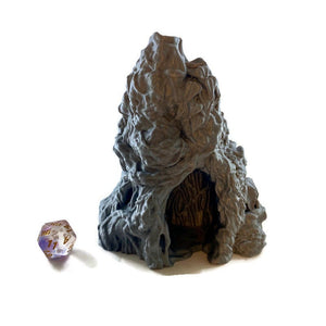 Waterfall Cave Entrance 28mm Jungle Terrain | Warhammer Terrain| Dnd Terrain | Dungeons & Dragons Terrain | DnD Miniatures