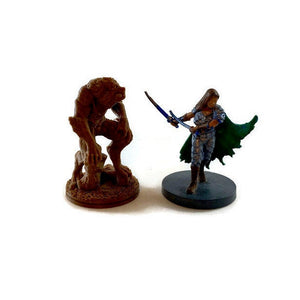 Werewolf 28mm Scale Miniature for Tabletop RPG | Dungeons & Dragons Monster Miniature