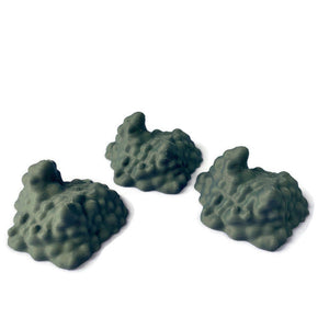 3 Slime Ooze Monsters | 28mm Scale Monster Miniatures for D&D Terrain | Ochre Jelly Black Pudding