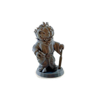 Jack O Lantern Pumpkin Head - 28mm Monster Miniatures for D&D Halloween Encounters | Dungeons and Dragons Miniatures