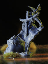 Load image into Gallery viewer, LED Light-up Scarecrow - 28mm Monster Miniatures for D&D Halloween Encounters | Dungeons and Dragons Miniatures