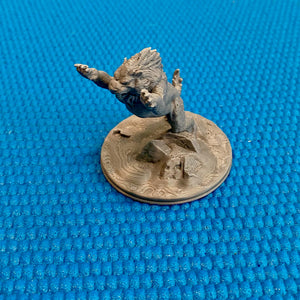 D&D Sabertooth Tiger or Crag Cat 28mm Scale Miniature Set | Dnd Miniatures | Dungeons and Dragons Winter Terrain Miniatures